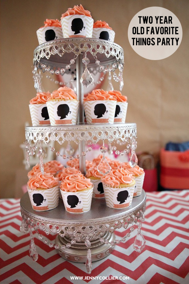 Silhouette Cupcake Wrappers