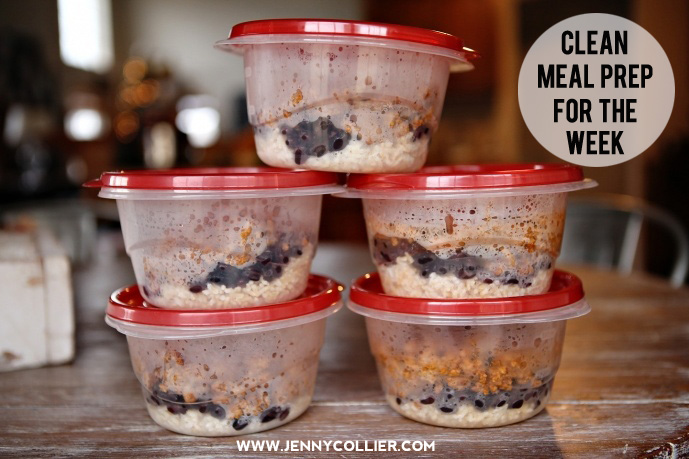 clean meal prep, jenny collier blog