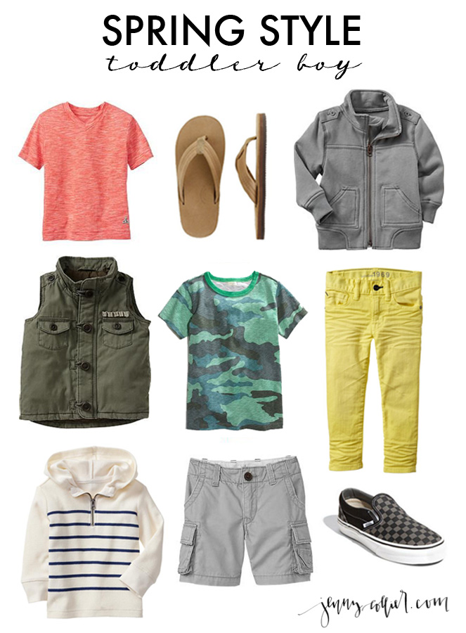 spring style guide for toddler boys