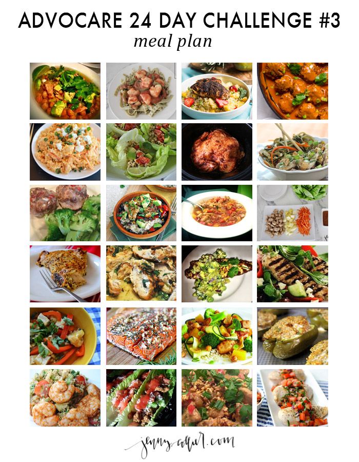 Meal planning is key when it comes to the challenge. Here is my