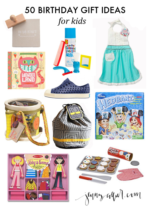 50 Birthday Gift Ideas For Kids