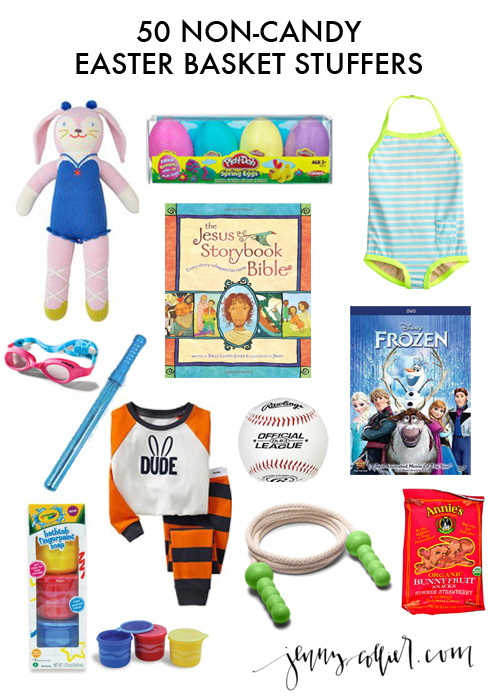 When it comes to Easter gifts we like to avoid candy as much as possible.  This list of 50 Easter basket ideas for boys and girls has so many helpful ideas!