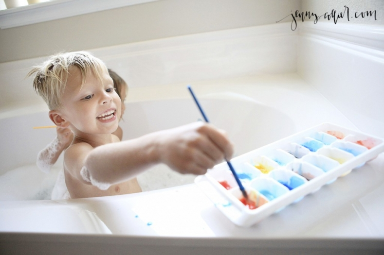 DIY Bath Paint Recipe