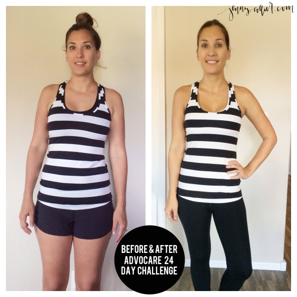 advocare 24 day challenge before & after