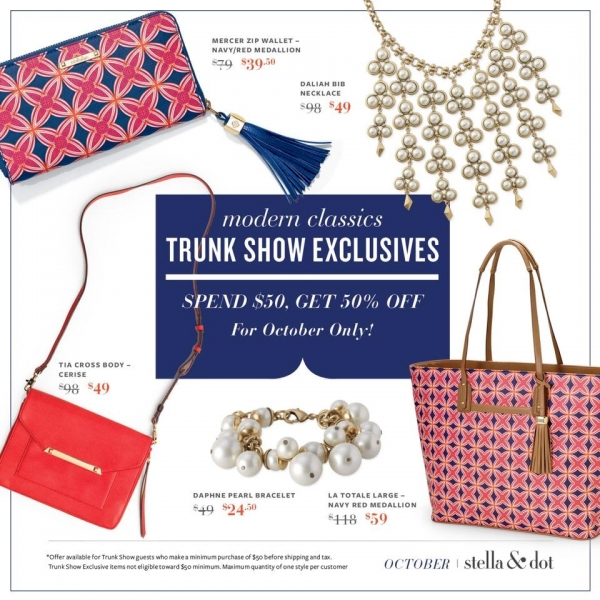 Stella & Dot October Specials