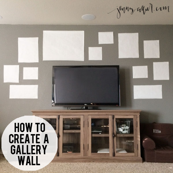 how to create a gallery wall jenny collier blog