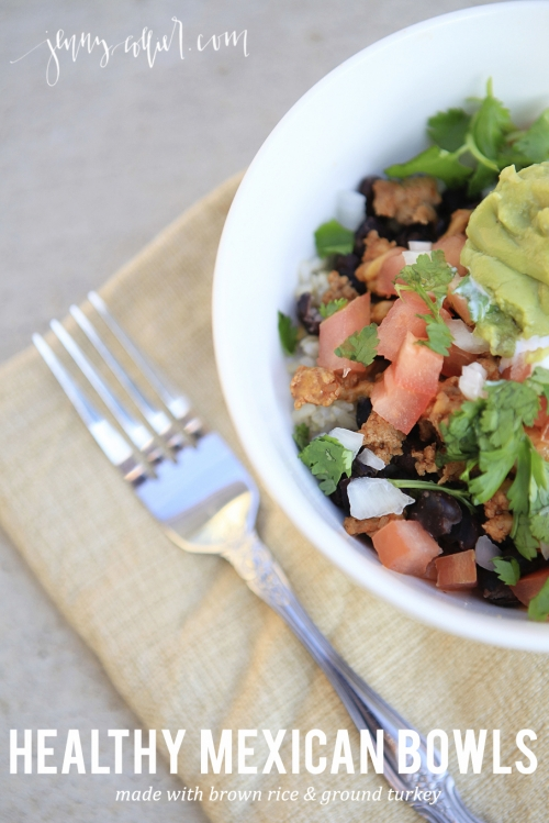 Healthy Mexican Bowls