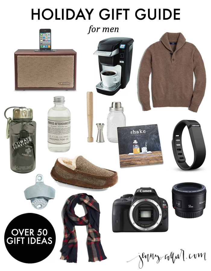 Holiday Gift Guide for Men » jenny collier blog
