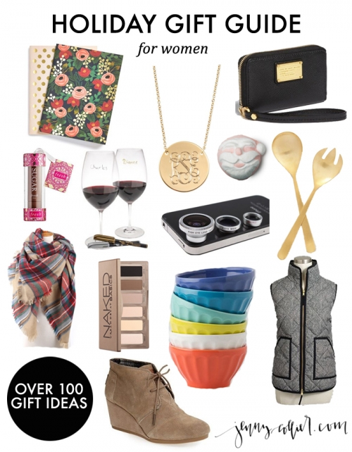 holiday gift guide for women jenny collier blog