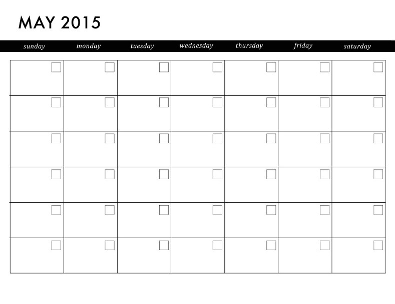 Diy printable planner jenny collier blog monthly calendar printable solutioingenieria Choice Image