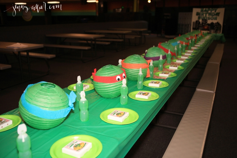 Teenage Mutant Ninja Turtle Birthday Party 2