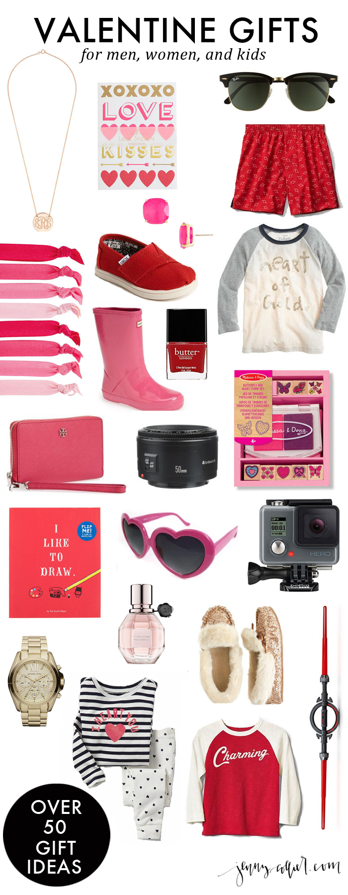 Valentine gifts for men women and kids jenny collier blog for Great valentine gifts for guys