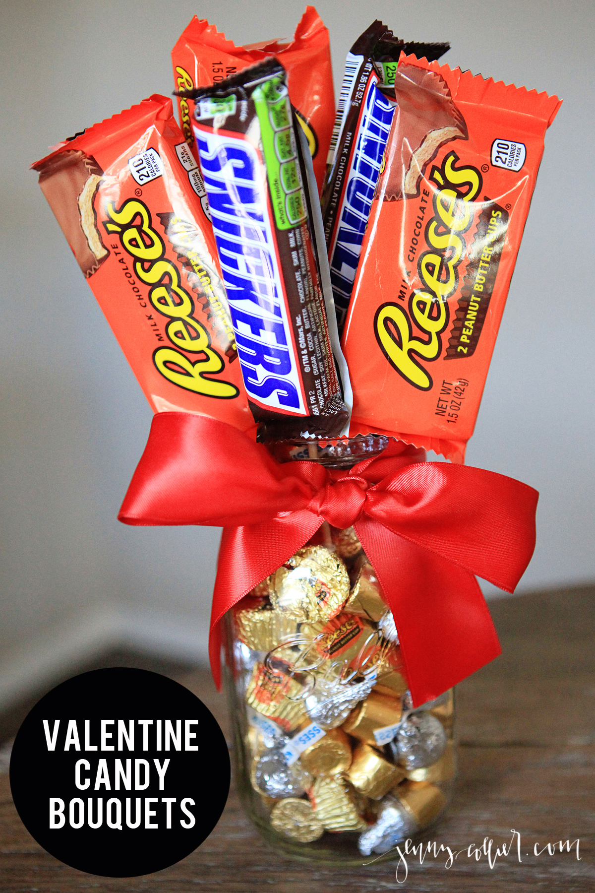 valentine candy bouquets » jenny collier blog