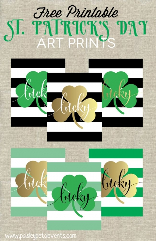 St Patricks Day Art Prints