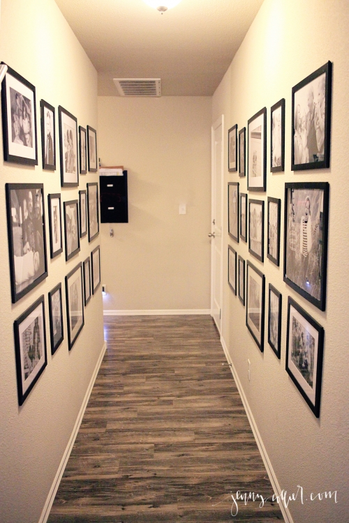 Entry and Hallway Gallery Walls » jenny collier blog