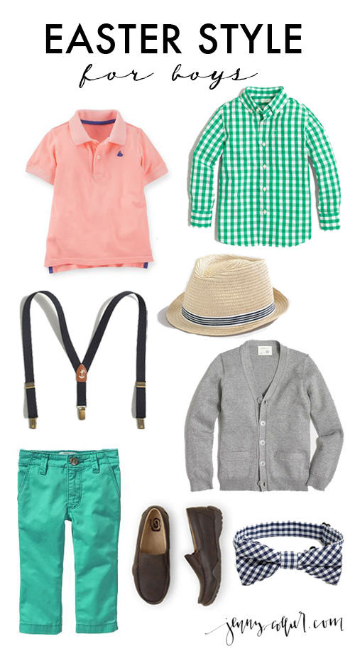 A round up of the cutest Easter dresses and accessories for girls and Easter outfits for boys.