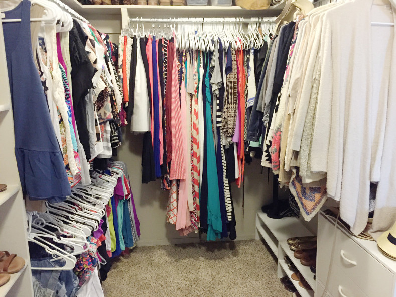 Closet and Organization Tips