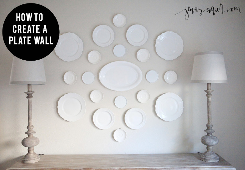 Plate wall tutorial