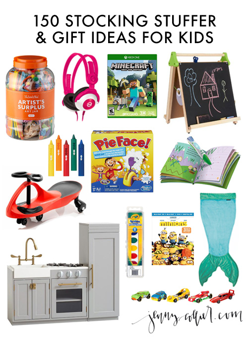150 stocking stuffer and gift ideas for kids