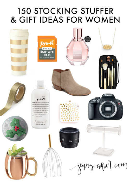150 Stocking Stuffers and Gift Ideas for Women