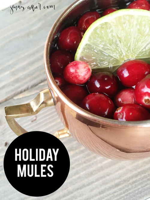 Holiday Mules