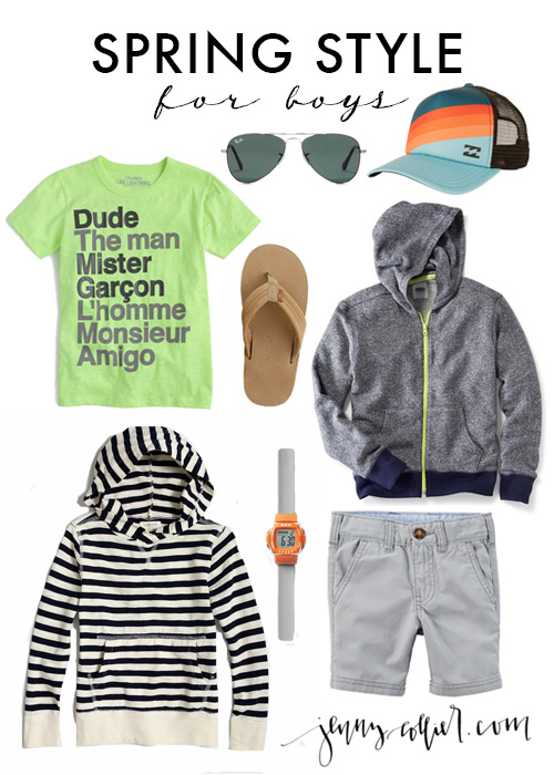 Spring Style for Boys