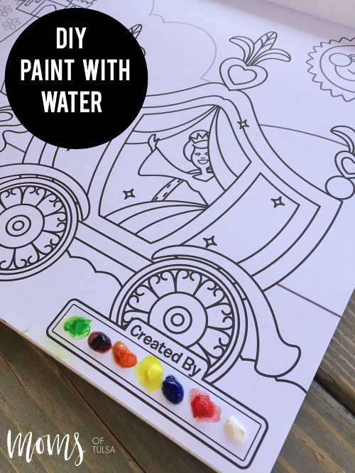 DIY Paint with Water