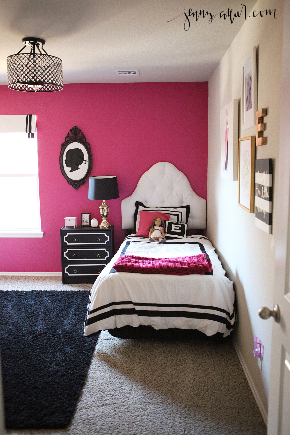 black pink bedroom ella s room 187 collier 10868